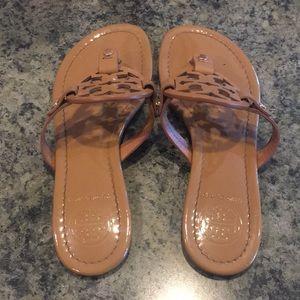 Tory Burch Shoes - Tory burch tan miller sandals